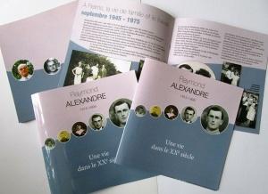 brochure Raymond Alexandre